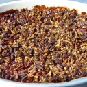 Appel cranberry kweepeercrumble